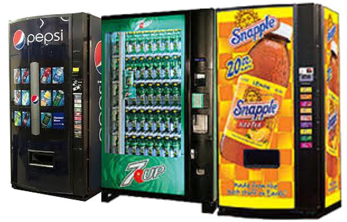 3 Vending Machines